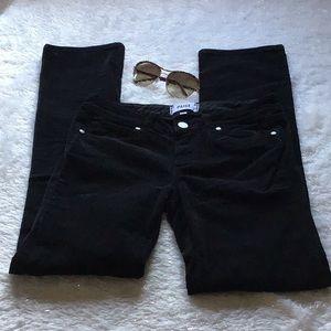PAIGE black cord jeans sz 26